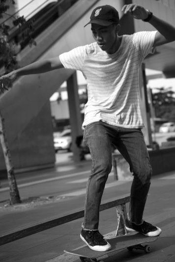 skateboarding KLCC kuala lumpur malaysia