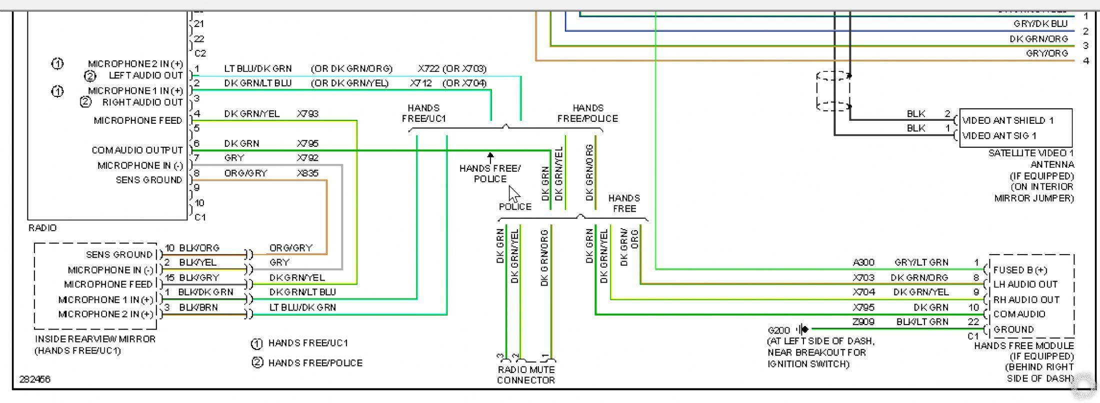 Dodge Charger Rt Radio Wiring Diagram