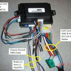 2005 Chevrolet Trailblazer Stereo Wiring Diagram 2004 Dodge Stratus Window 2002 2007 Remote Start Pictorial Posted Image