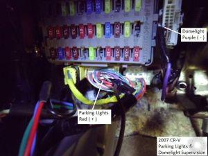 200708 Honda CRV Remote Start wKeyless Pictorial