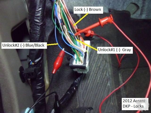 2003 Hyundai Elantra Radio Wiring Diagram 2012 Hyundai Accent Remote Start Pictorial