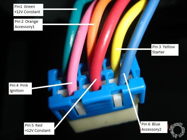 2012 kia optima r/s w/keyless pictorial - 03 kia optima starter wiring
