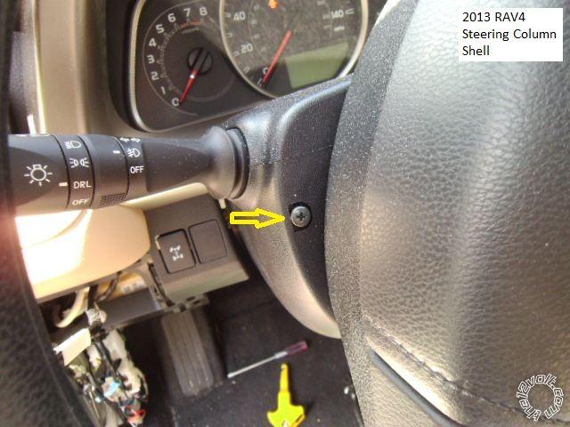 2013 Rav4 Remote Start With Keyless Entry Pictorial