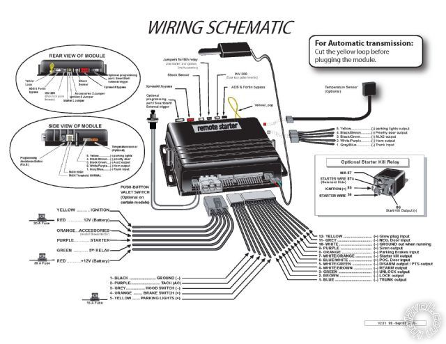 Audiovox Alarm Wiring Diagrams Printer Friendly Posts 2012 Odyssey Remote Start D2d