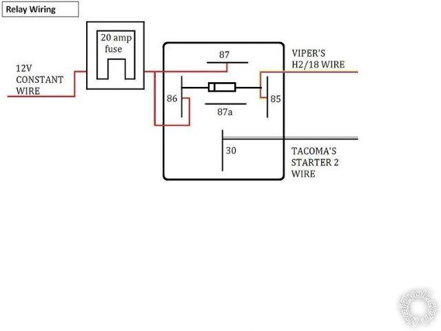 Viper 5706V remote start