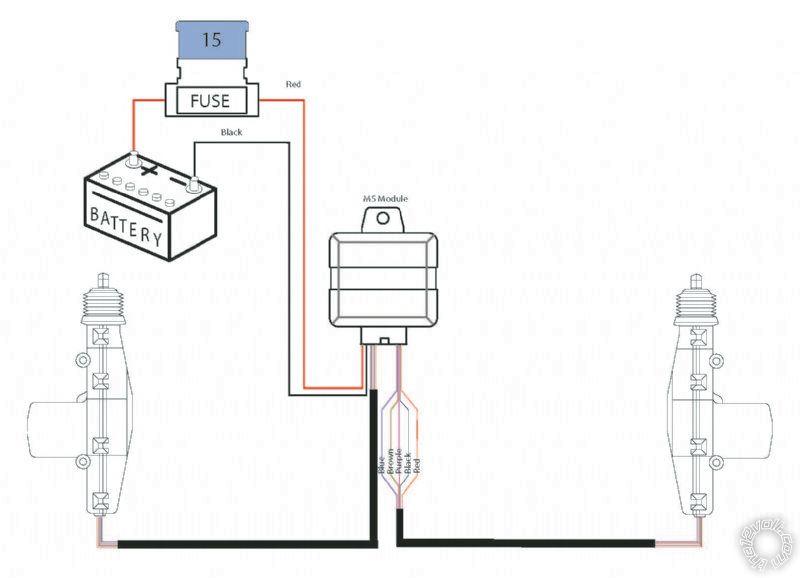 Avital 2101L remote and Spal 2-Door Lock