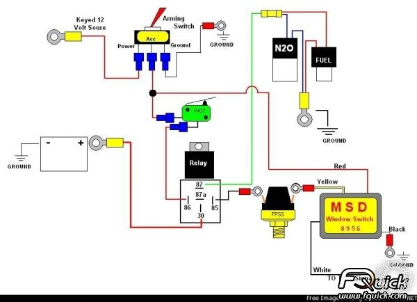 110cc Wiring Diagram Nitrous Line Lock And Two Step