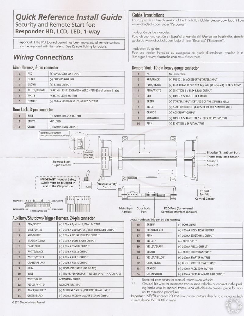 2014 Jeep Compass Sport Wiring Dball2 5906v Page 2