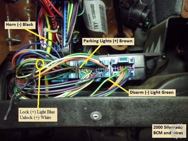remote starter wiring on 2002 chevy silverado  auto wiring