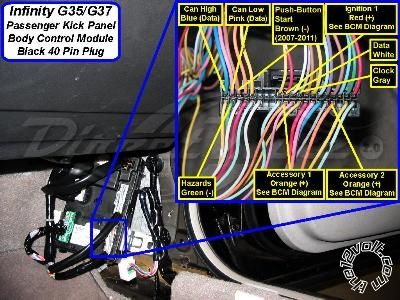For Car Alarm Wiring Diagram 2012 Infiniti G37 Alarm Remote Start Stereo Wiring