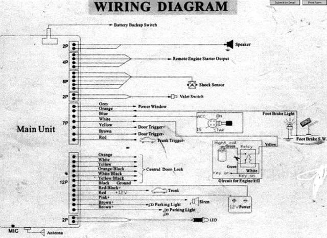 Diagrams#800568: 2006 Dodge Ram Radio Wiring Diagram – 99 Dodge ...