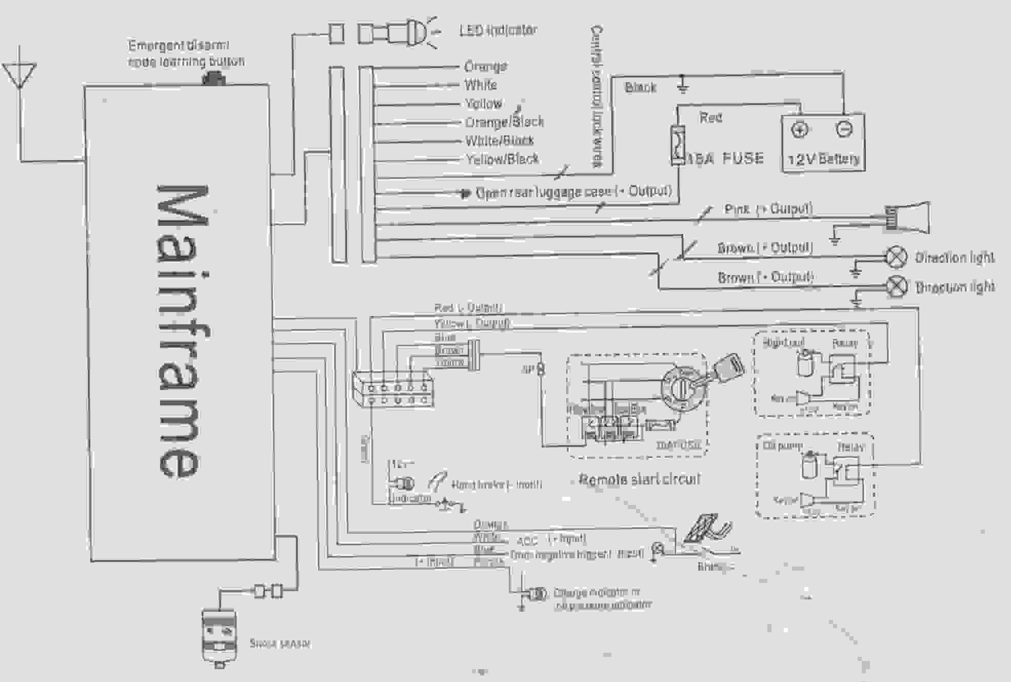 wiring diagram of car alarm system 1997 honda civic ex fuse box aolin