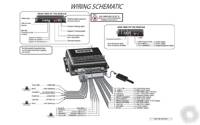 Bulldog Remote Start Wiring Diagram Car Transponder