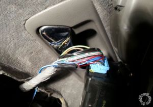 2003 Honda Odyssey EX Disarm Wire Location