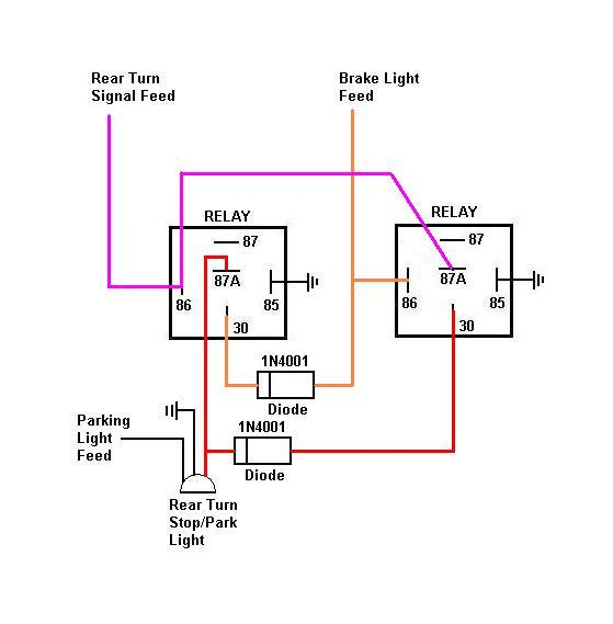 converting from 3 bulb to 2 bulb tails?