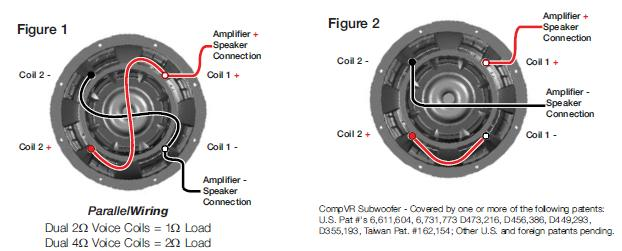 kicker cvr 15 wiring diagram printable blank animal cell solved how do you hook up 2 inch to 1 ohm fixya cca9a73 jpg