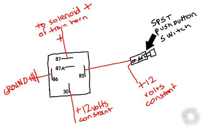 my train horn wiring air horn relay diagram efcaviation com dixie horn wiring diagram at cos-gaming.co