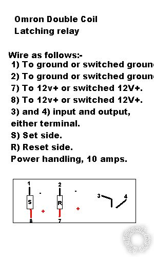 Overdrive Relay Wiring