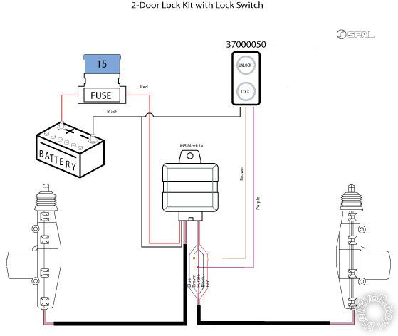 2 actuators, 1 switch, 2 relays or 4 relays