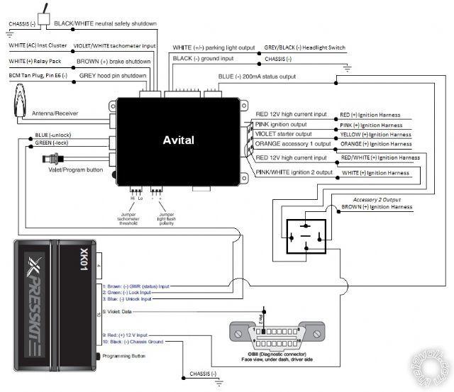 avital wiring diagram wiring diagram avital 2101l keyless entry system wiring diagram schematics and