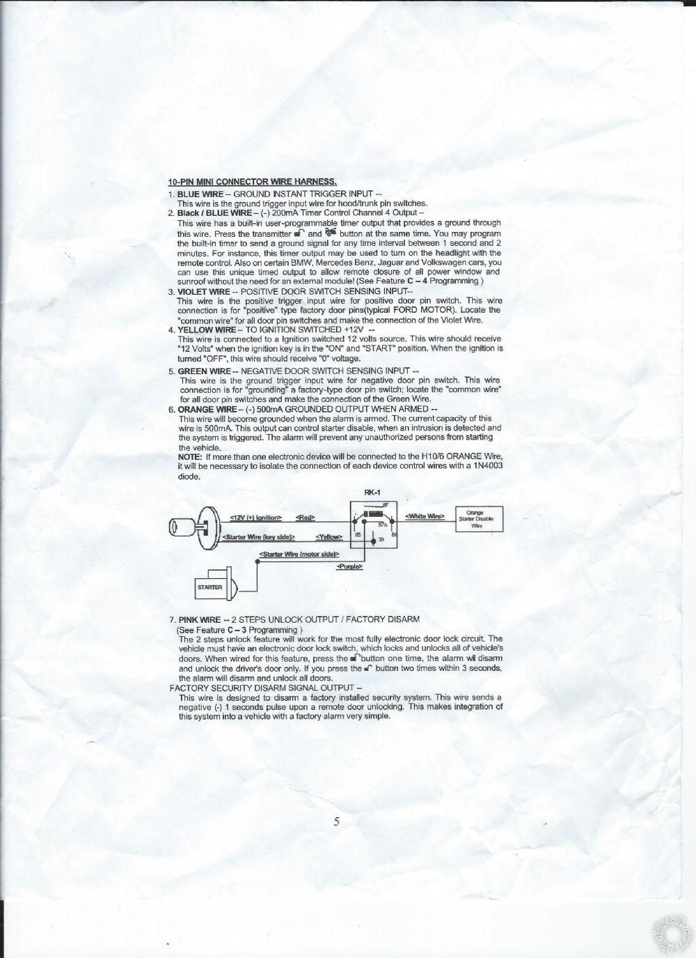 Remote start auto page 525