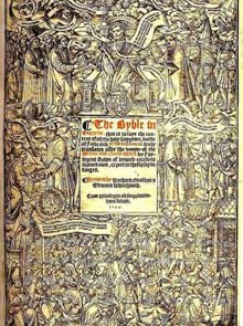 The Great Bible of 1538