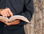 Open Bible being studied