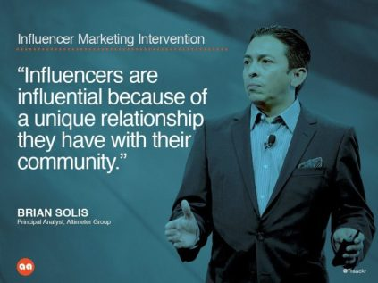 characteristics of key influencers