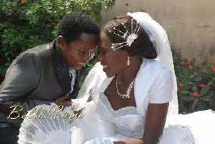 Ikedieze and his lovely wife