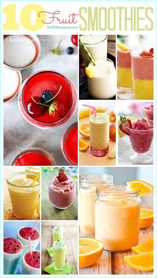 healthy smoothie recipes at the36thavenue com