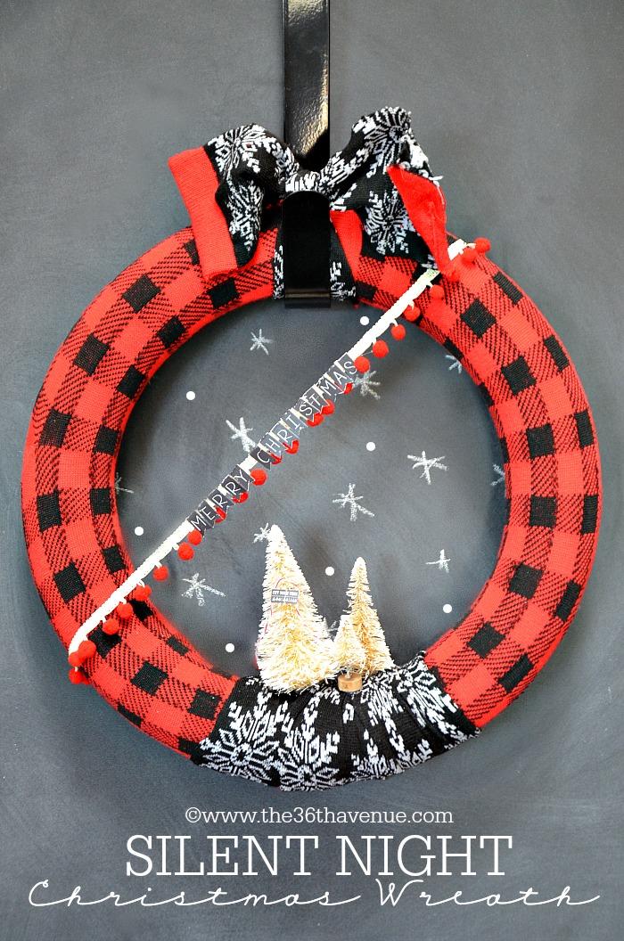 christmas wreath tutorial the
