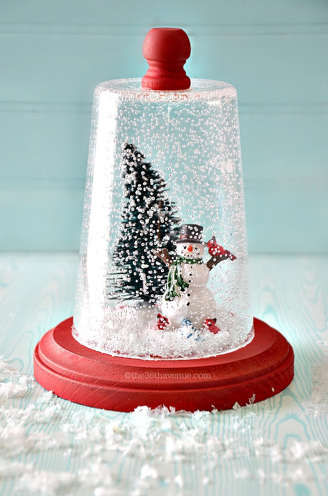 Christmas Gift Idea Super Cute Snow Globe Tutorial At