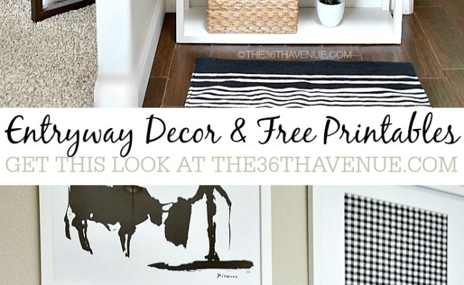The 36th Avenue Home Decor Entryway And Free
