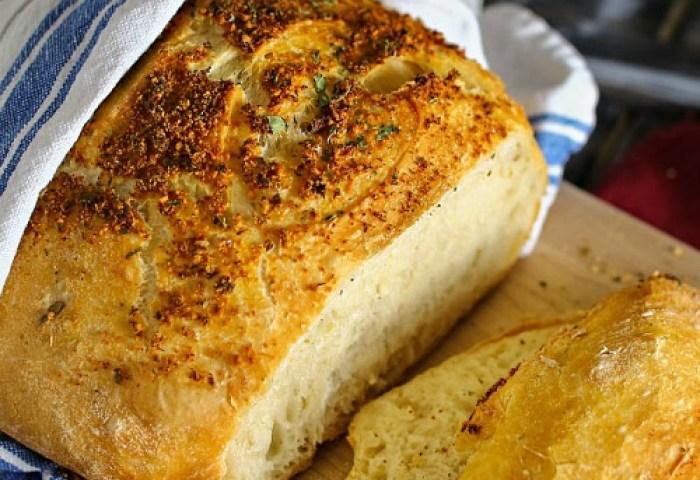 Crusty Italian Parmesan Bread Recipe The 36th Avenue