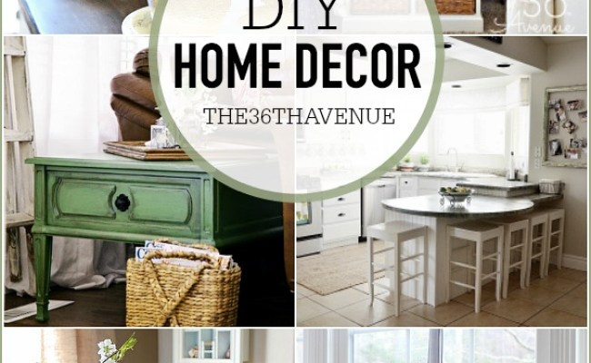 Spring Home Decor Ideas Affordable Decor The 36th Avenue