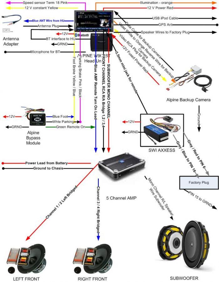 xplod car stereo wiring diagram