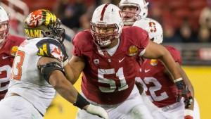 Joshua Garnett courtesy of  Stanford Athletics