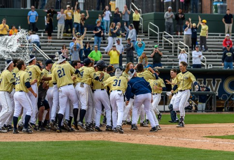 Jackets Walk-Off In 12th Inning On Saturday