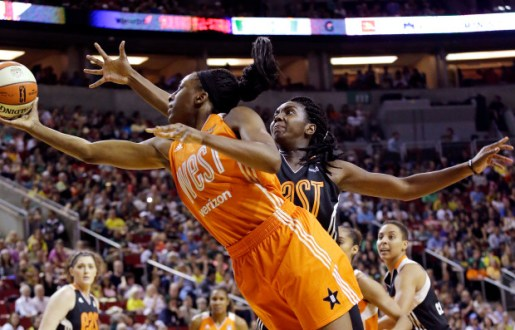 Clarendon Records Double-Double, West Defeats East 130-121 in 2017 WNBA All-Star Game