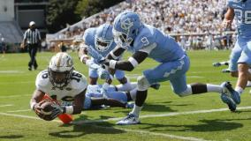 Georgia Tech Runs All Over North Carolina for A Win