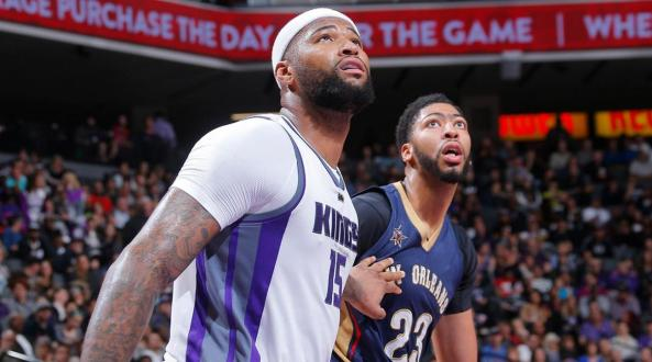 Anthony Davis And DeMarcus Cousins- 40 Shots Around The Rim