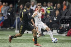 United's Front Line Too Much For Los Angeles