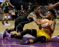 Nurse Leads Three Other Liberty Players In Double-Figures For 81-75 Preseason Win Over Sparks