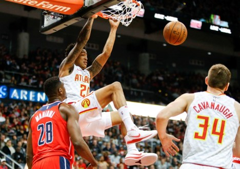 John Collins Named To NBA All-Rookie Second Team