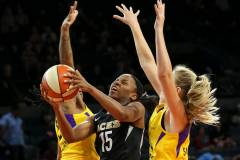 Sparks Drop Second In Row To The Hot Aces