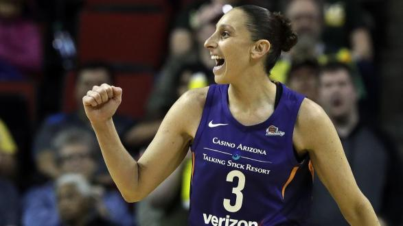 Taurasi Named Western Conference Player Of The Month