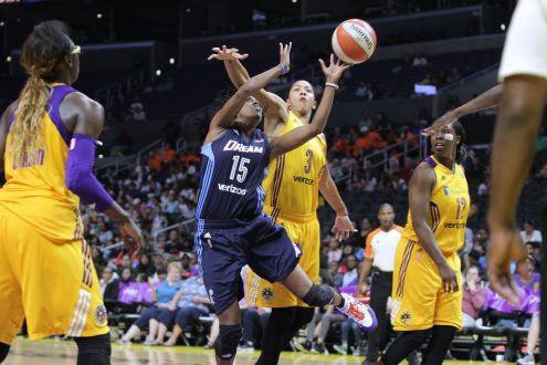 Sparks Fall To The Hot Dream In The Fourth Quarter