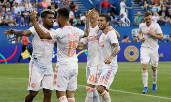 Martinez Brace Carries Atlanta Over Montreal 2-1