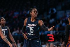 Sykes Lead Dream To Victory Over Mystics