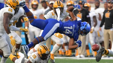 Georgia State Football: Panthers Win 24-20 On Last Second TD